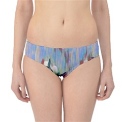 Abstractionism Spring Flowers Hipster Bikini Bottoms
