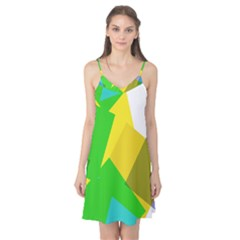 Green yellow shapes        Camis Nightgown