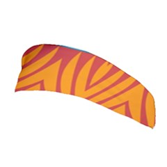 Shapes In Retro Colors       Stretchable Headband