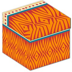 Shapes in retro colors       Storage Stool
