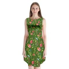Sunny Garden I Sleeveless Chiffon Dress