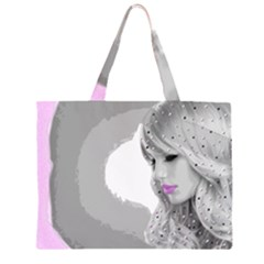 Angel Zipper Large Tote Bag