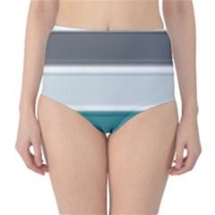 Blues High-Waist Bikini Bottoms