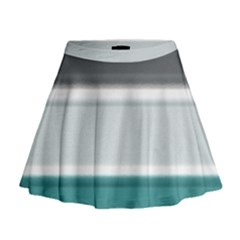 Blues Mini Flare Skirt