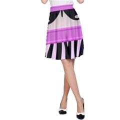 Butterfly A-Line Skirt