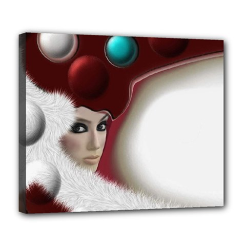 Carnaval Deluxe Canvas 24  X 20