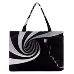 Chaos Medium Zipper Tote Bag