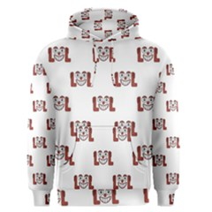 Funny Emoji Laughing Out Loud Pattern  Men s Pullover Hoodie