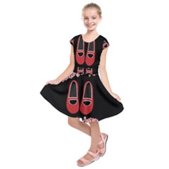 There Is No Place Like Home Kids  Short Sleeve Dress