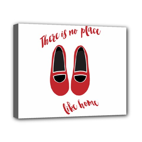 There is no place like home Canvas 10  x 8