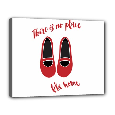 There is no place like home Canvas 14  x 11