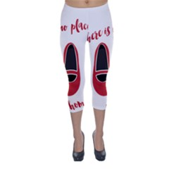 There is no place like home Capri Winter Leggings