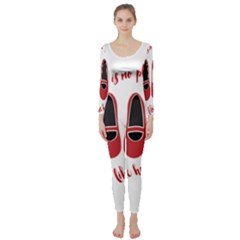 There is no place like home Long Sleeve Catsuit