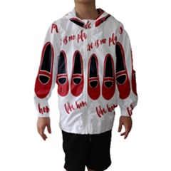 There is no place like home Hooded Wind Breaker (Kids)