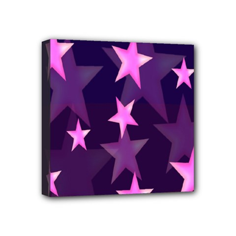 Background With A Stars Mini Canvas 4  x 4