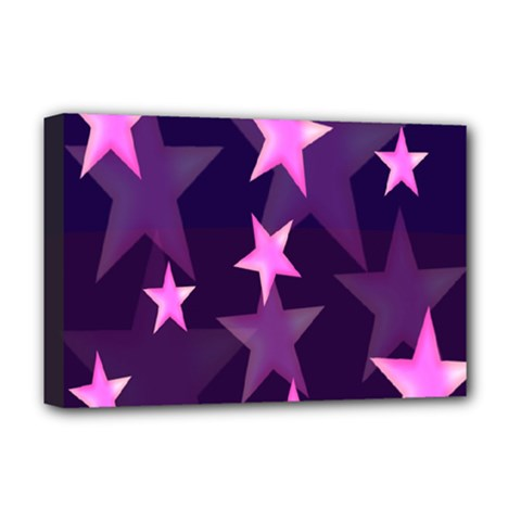 Background With A Stars Deluxe Canvas 18  x 12