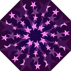 Background With A Stars Hook Handle Umbrellas (Large)