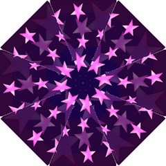 Background With A Stars Hook Handle Umbrellas (Small)