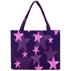 Background With A Stars Mini Tote Bag