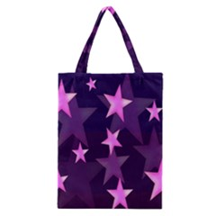 Background With A Stars Classic Tote Bag
