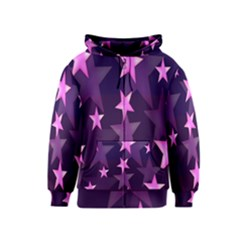 Background With A Stars Kids  Zipper Hoodie