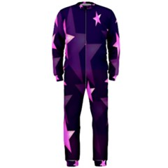 Background With A Stars OnePiece Jumpsuit (Men)