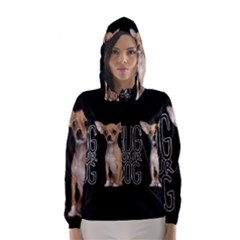Chihuahua Hooded Wind Breaker (Women)