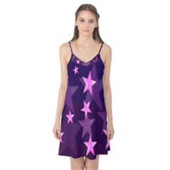 Background With A Stars Camis Nightgown