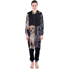 Chihuahua Hooded Jumpsuit (Ladies)