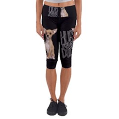 Chihuahua Capri Yoga Leggings