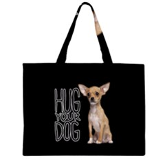 Chihuahua Large Tote Bag