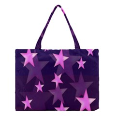 Background With A Stars Medium Tote Bag