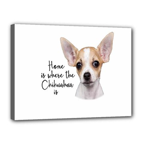 Chihuahua Canvas 16  x 12