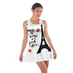 Paris Cotton Racerback Dress