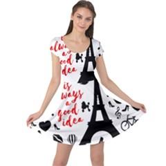Paris Cap Sleeve Dresses