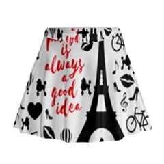 Paris Mini Flare Skirt
