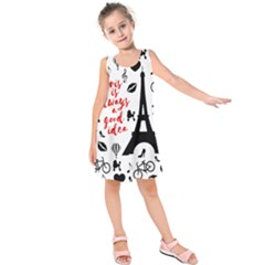 Paris Kids  Sleeveless Dress