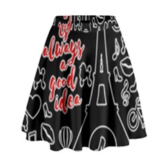 Paris High Waist Skirt