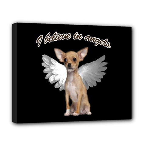 Angel Chihuahua Deluxe Canvas 20  x 16
