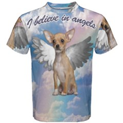 Angel Chihuahua Men s Cotton Tee