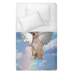 Angel Chihuahua Duvet Cover (Single Size)