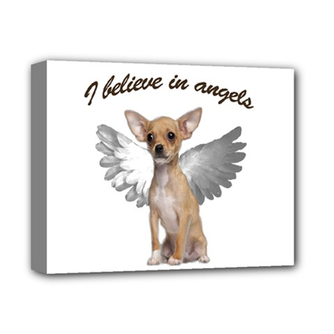 Angel Chihuahua Deluxe Canvas 14  x 11