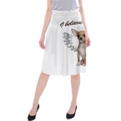 Angel Chihuahua Midi Beach Skirt
