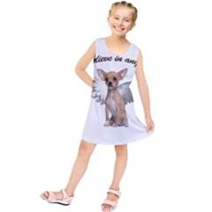 Angel Chihuahua Kids  Tunic Dress