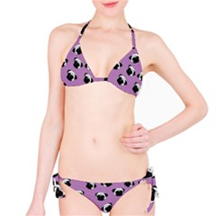 Pug dog pattern Bikini Set
