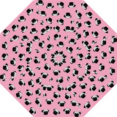 Pug dog pattern Hook Handle Umbrellas (Medium)