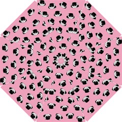 Pug dog pattern Hook Handle Umbrellas (Small)