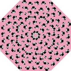 Pug dog pattern Hook Handle Umbrellas (Small)