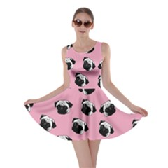 Pug dog pattern Skater Dress