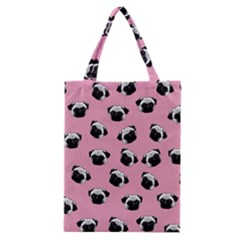 Pug dog pattern Classic Tote Bag